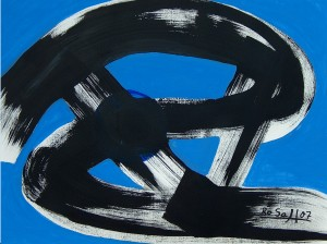Kraft, Aquarell auf Büttenaquarellpapier ( 60 cm X 46 cm )