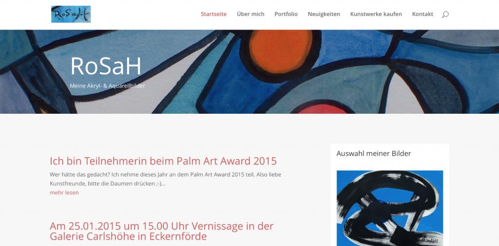 Homepage RoSaH.de 2016