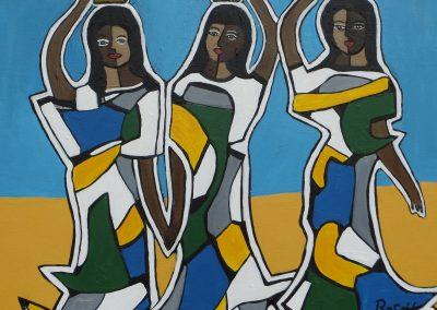Drei Wasserträgerinnen